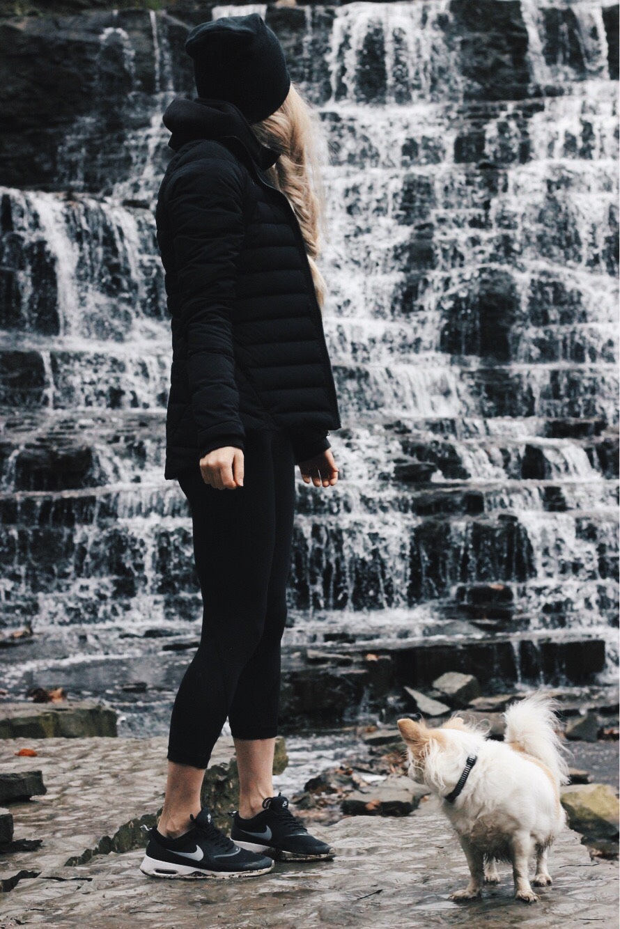 Lululemon Outfit, Albion Falls, Alex Gaboury