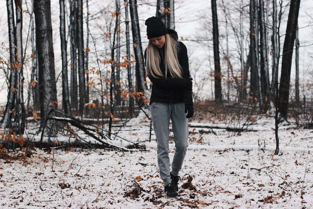 Casual Cozy Winter Outfit, Lululemon Outfit, Alex Gaboury