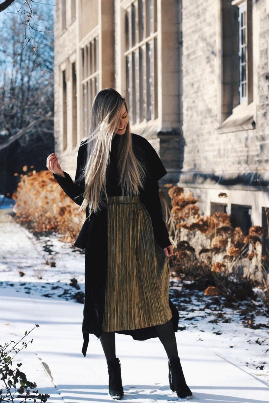 Midi Coat, Winter Outfit, Alex Gaboury