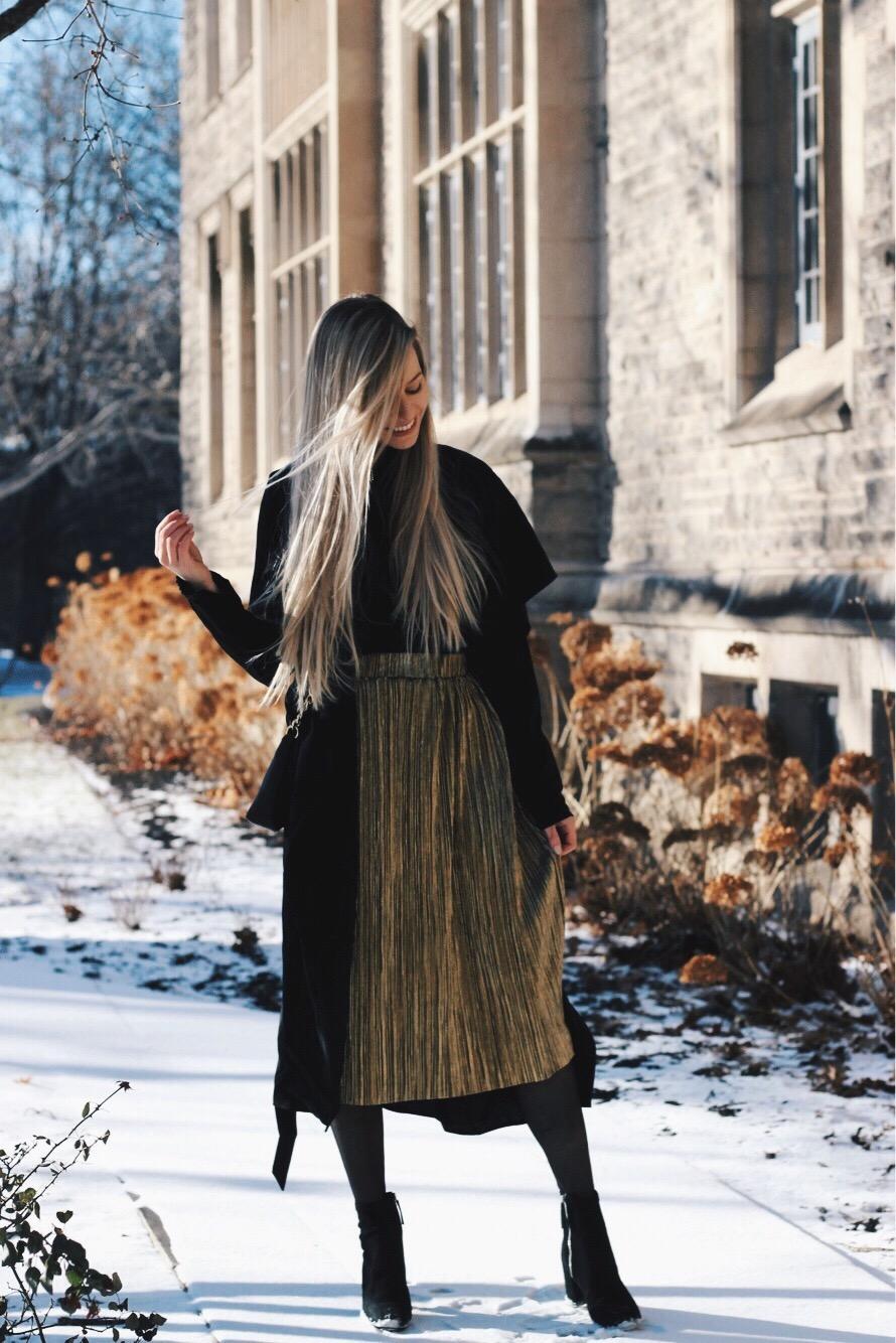 Midi Coat, Winter Outfit, Alex Gaboury