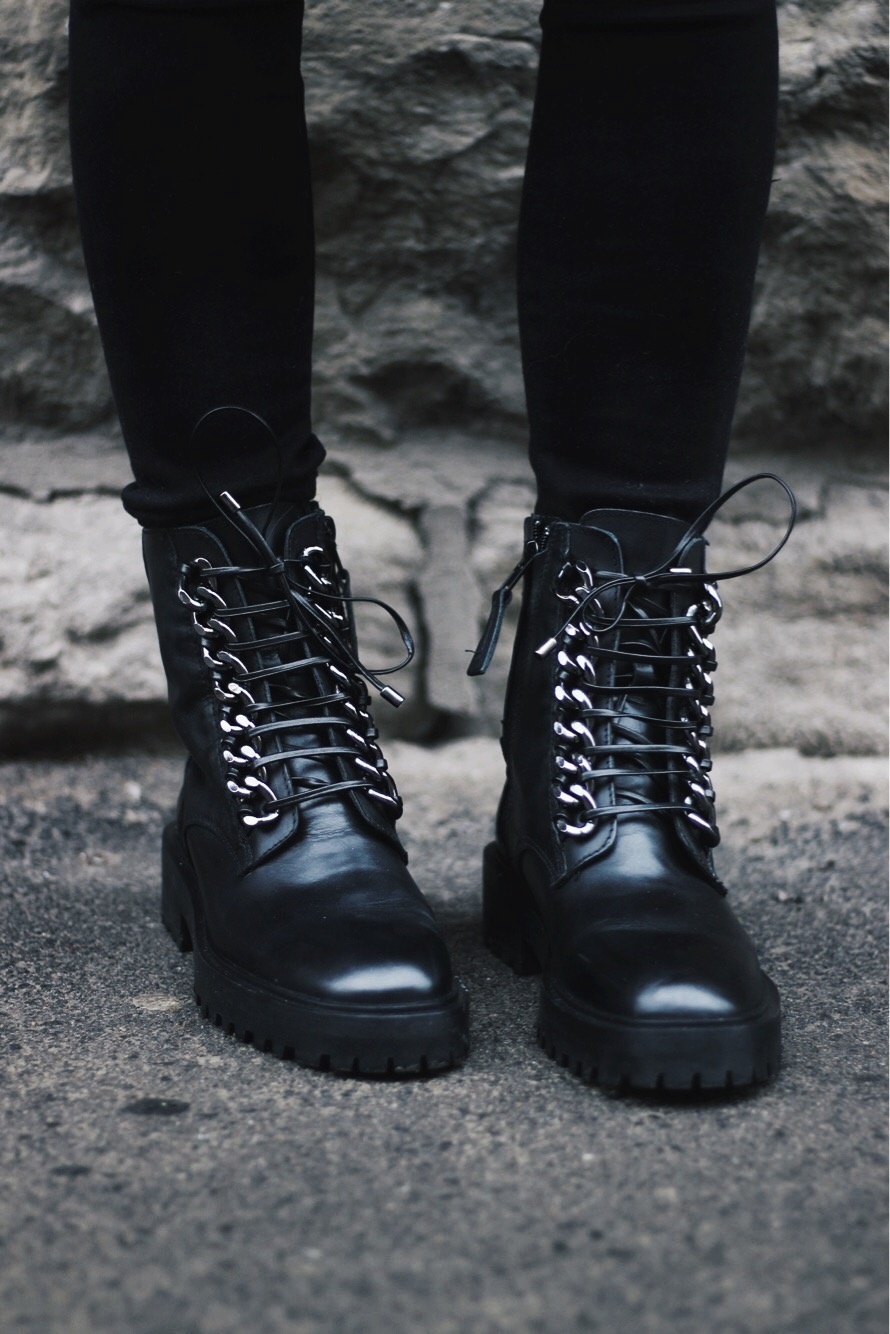 Perfect Combat Boots For Winter, Alex Gaboury