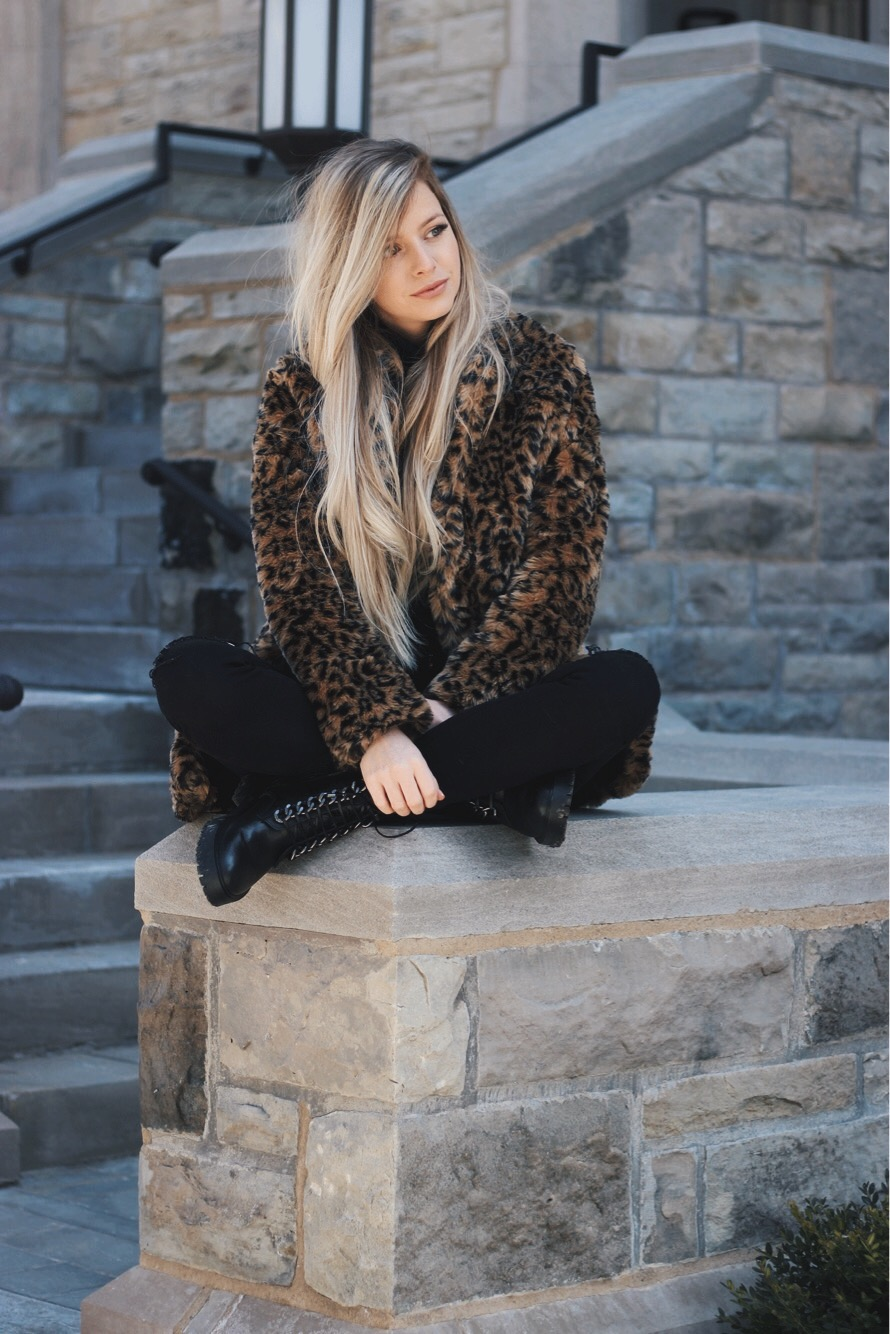 The Perfect Leopard Coat for Winter, Alex Gaboury