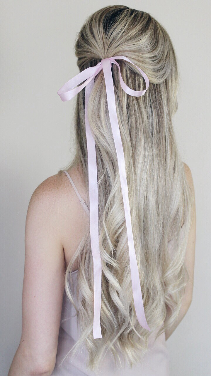 Simple Hairstyles Incorporating Bows & Ribbon - Alex Gaboury