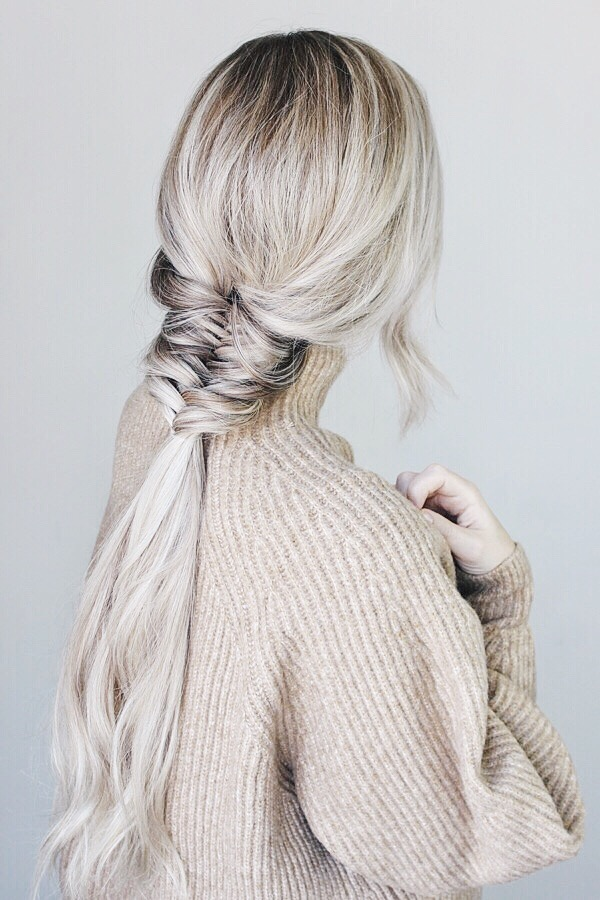 Easy Hairstyle Perfect For Fall, Fishtail Braid | Alex Gaboury