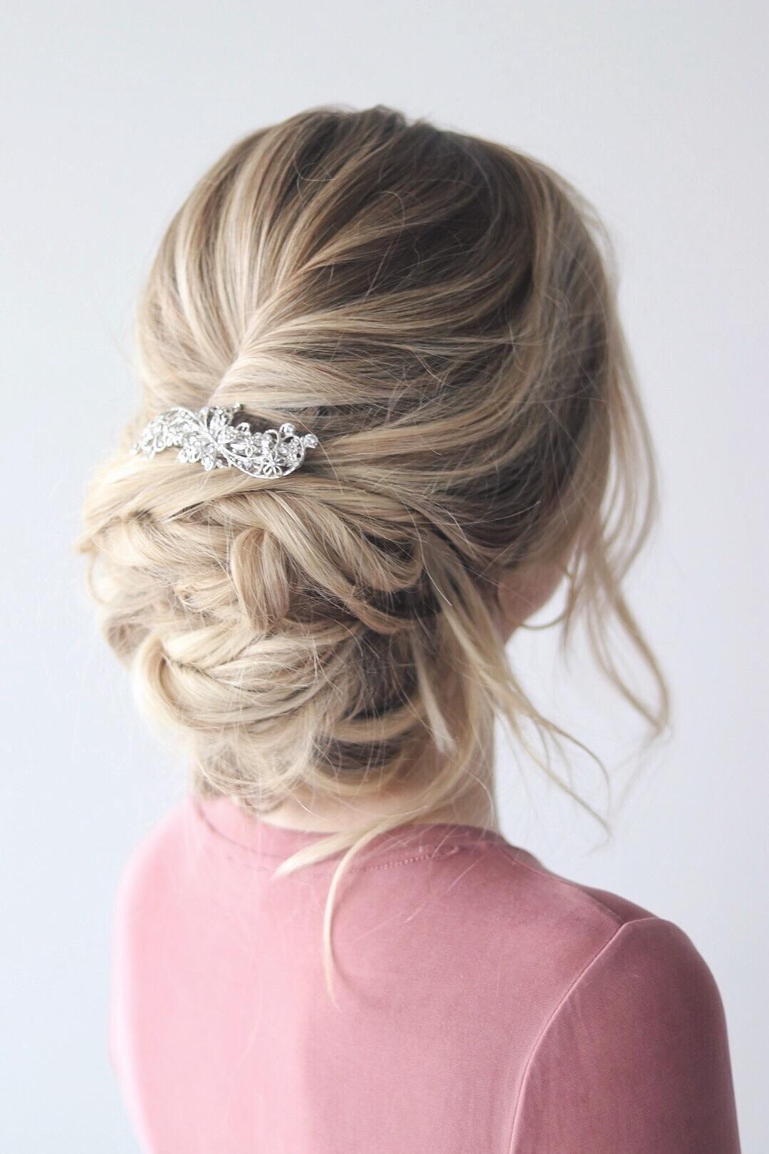 Messy Up-do Hair Tutorial (Prom/Wedding) Alex Gaboury