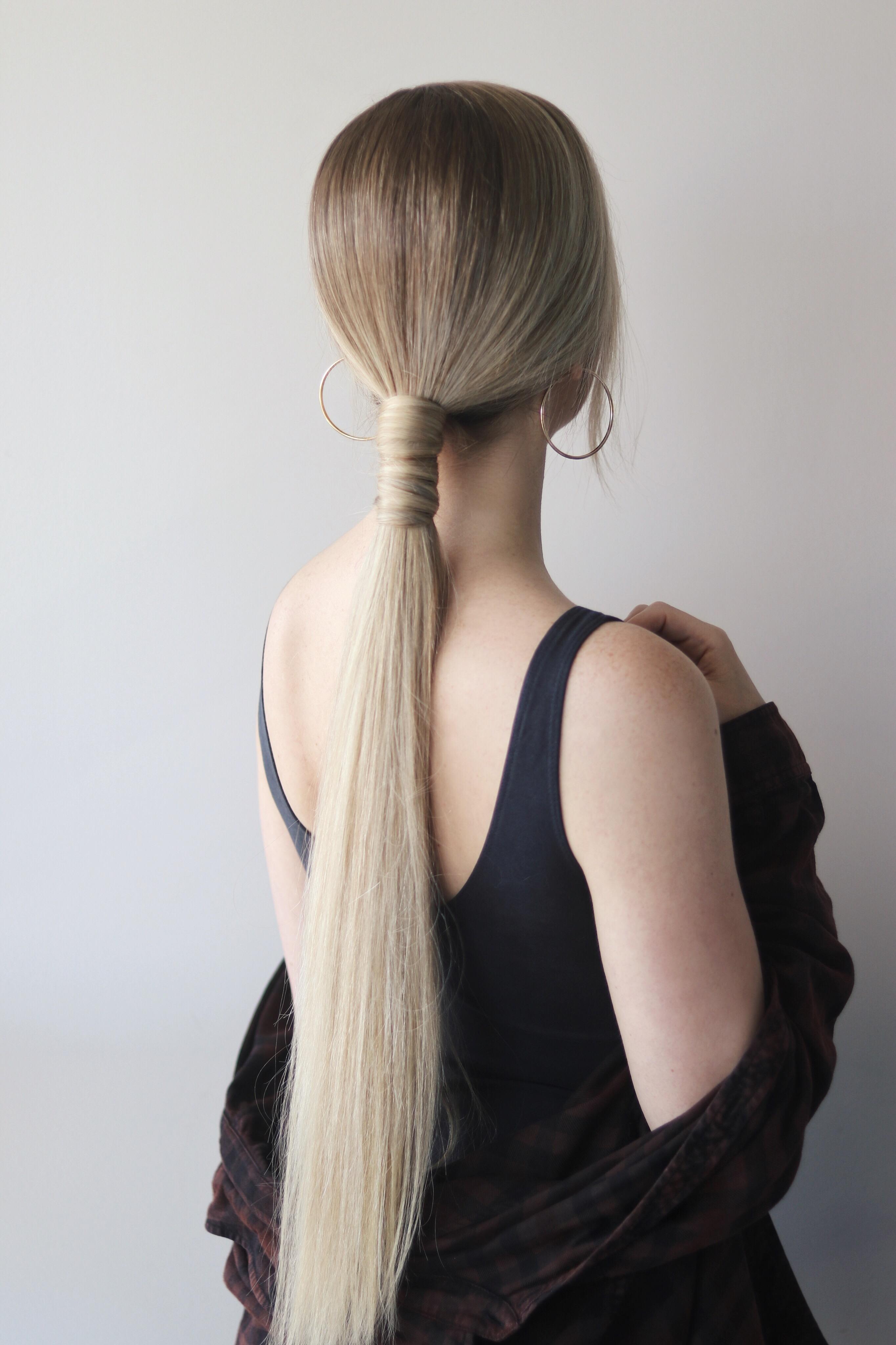 Sleek Ponytail Tutorial, Alex Gaboury