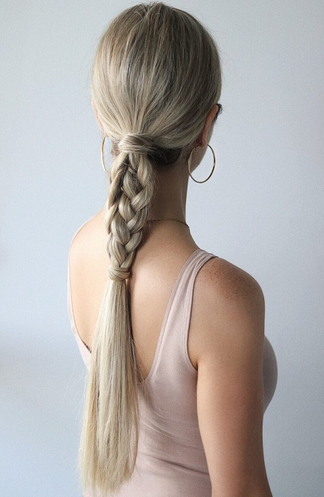 Easy Hairstyles, Braided Ponytail, www.alexgaboury.com