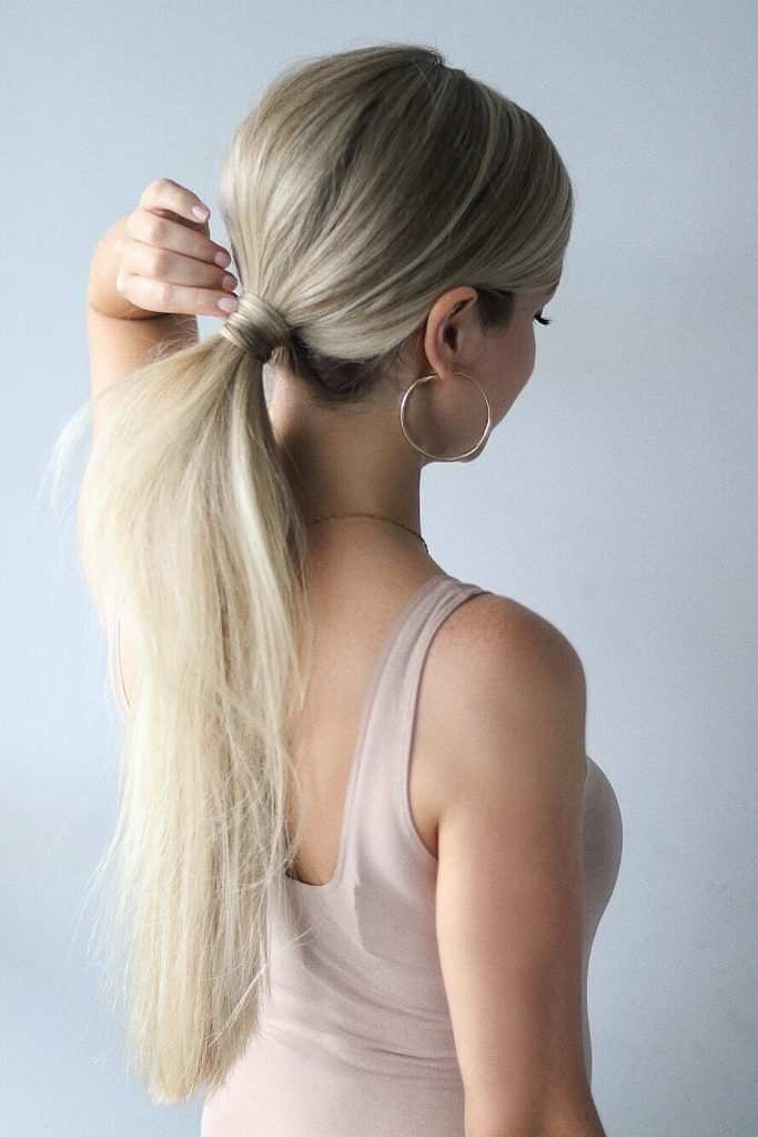 Easy Hairstyles, Sleek Ponytail, www.alexgaboury.com