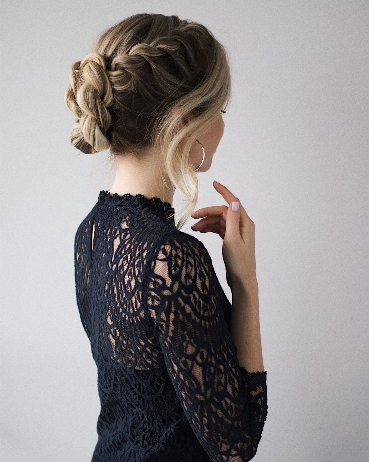 French Twist Updo Hair Tutorial | www.alexgaboury.com
