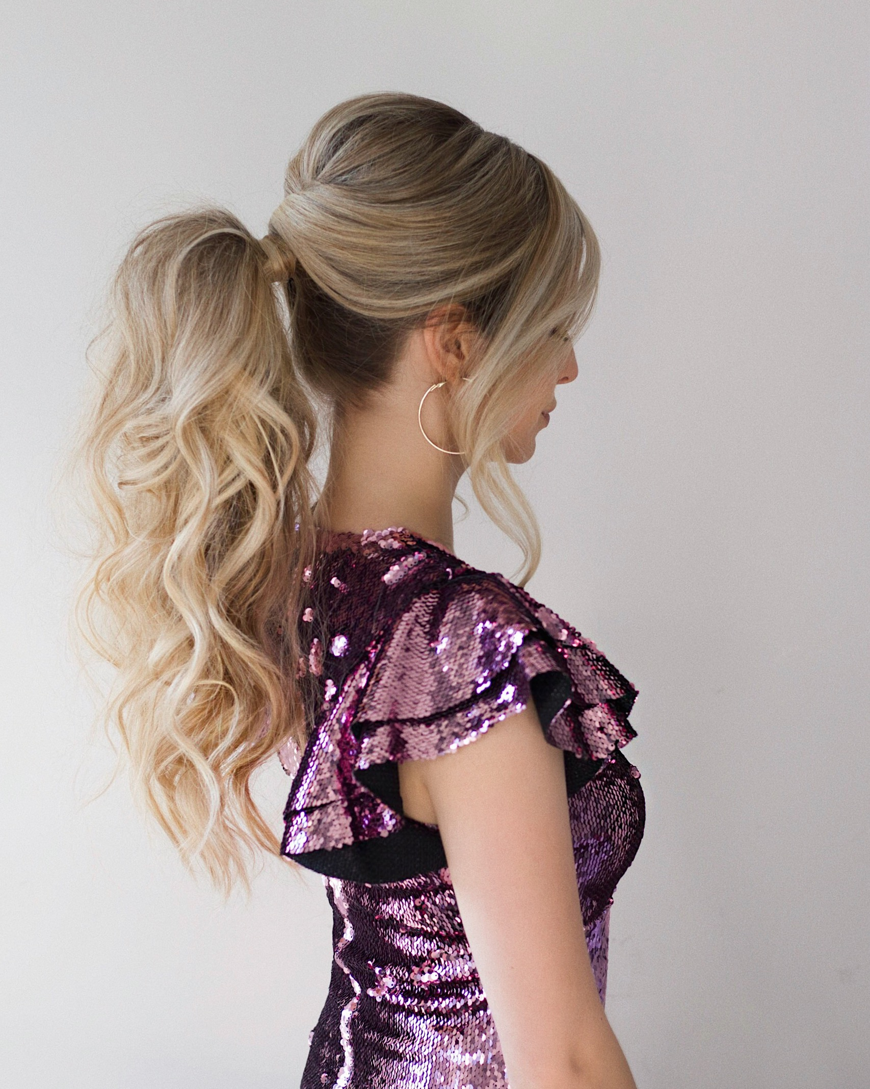 Perfect High Ponytail Hair Tutorial | www.alexgaboury.com