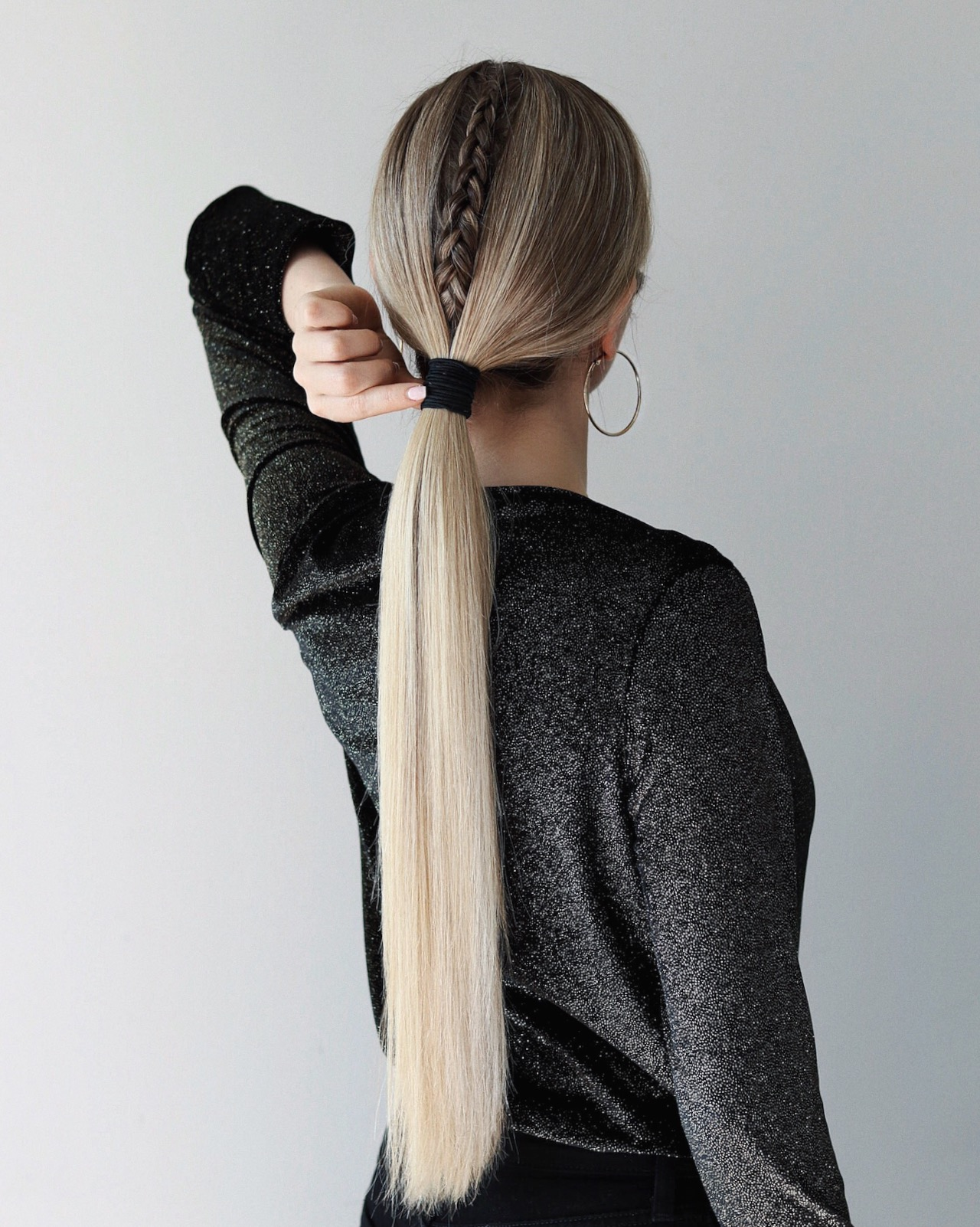 EASY HOLIDAY HAIRSTYLES TUTORIAL | www.alexgaboury.com