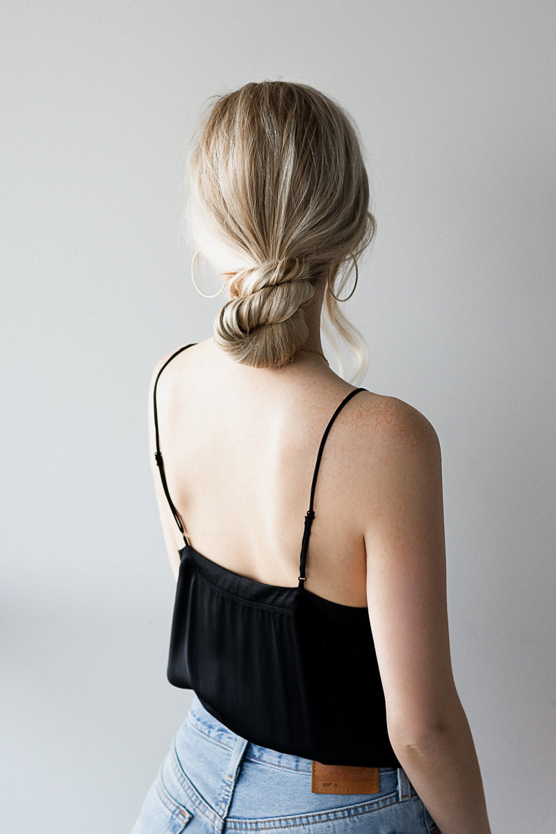 How To 3 Easy Low Bun Hairstyles Alex Gaboury