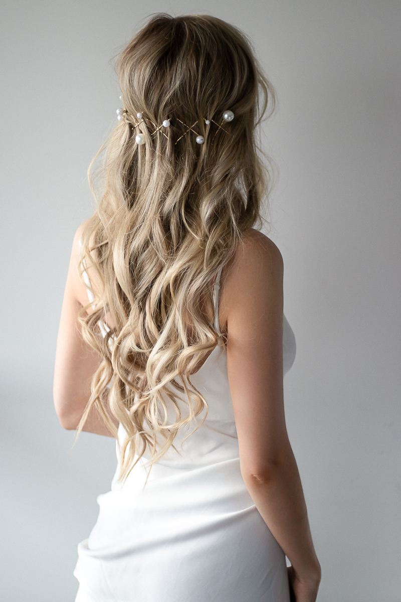 3 EASY BRIDAL HAIRSTYLES TUTORIAL | www.alexgaboury.com