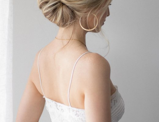UPDO HAIR TUTORIAL, THE PERFECT WEDDING HAIRSTYLE www.alexgaboury.com