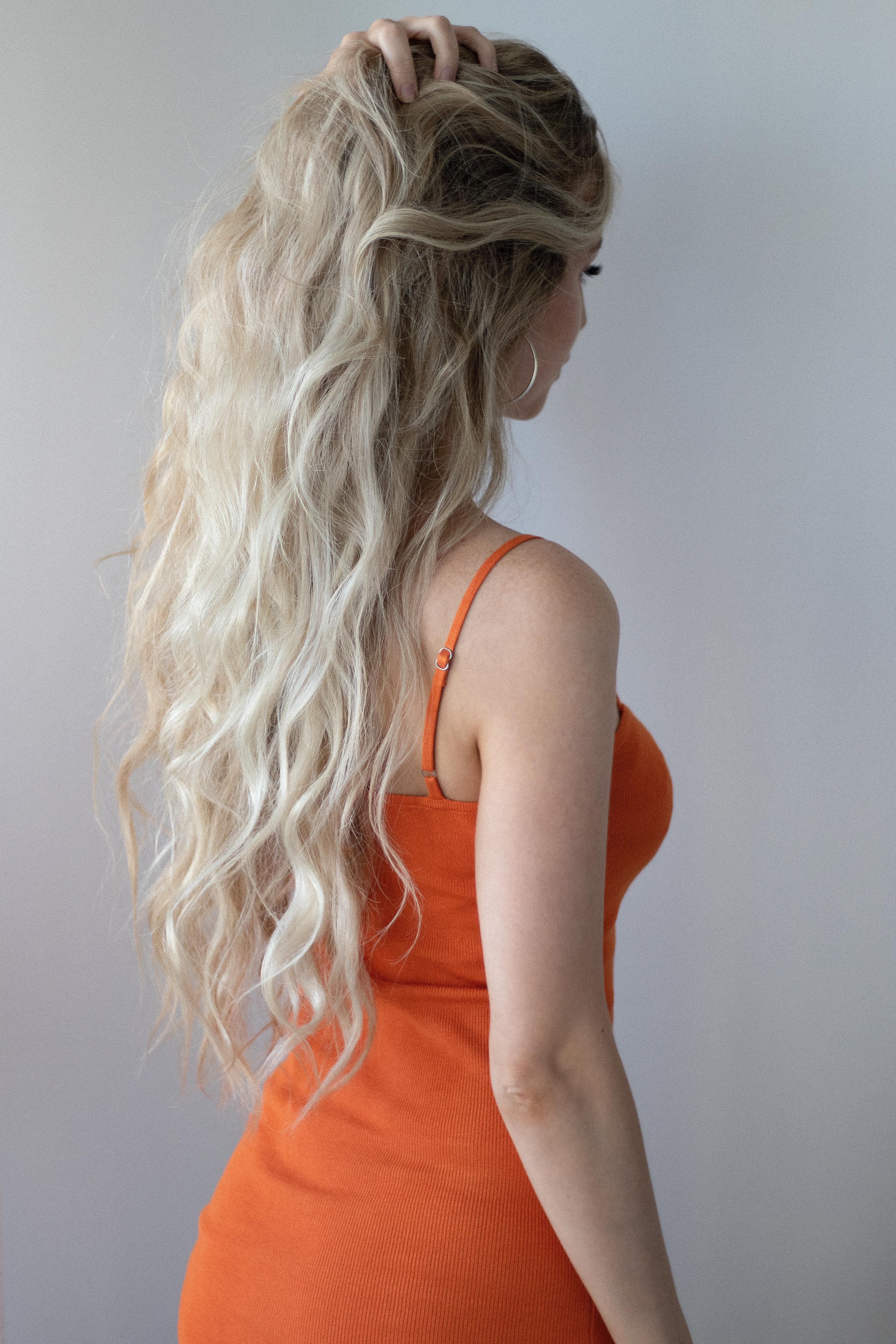 BEACH WAVES WITH FLAT IRON HAIR TUTORIAL || www.alexgaboury.com