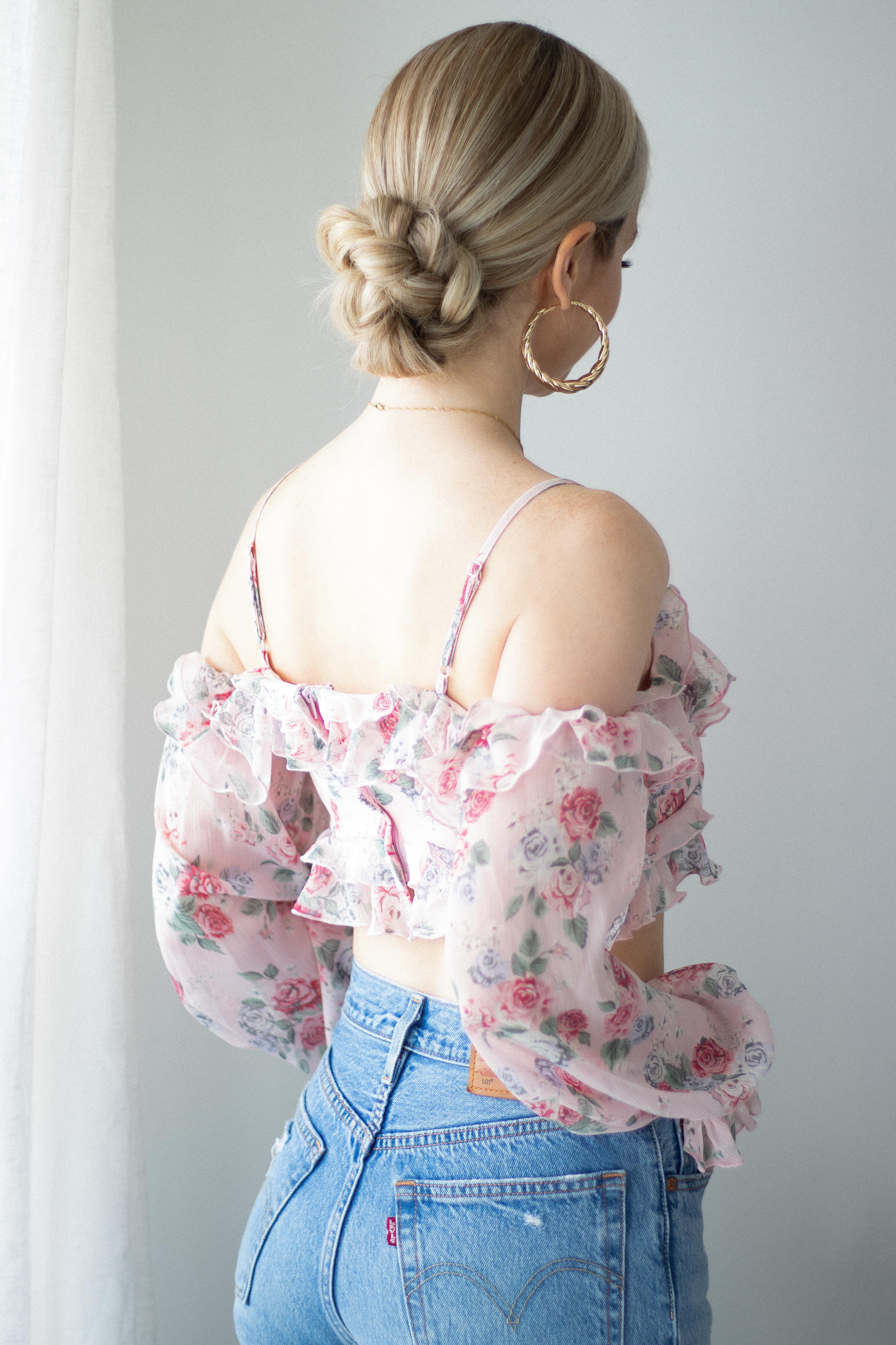 3 BEAUTIFUL EASY HAIRSTYLES FOR SUMMER (with tutorial) | www.alexgaboury.com
