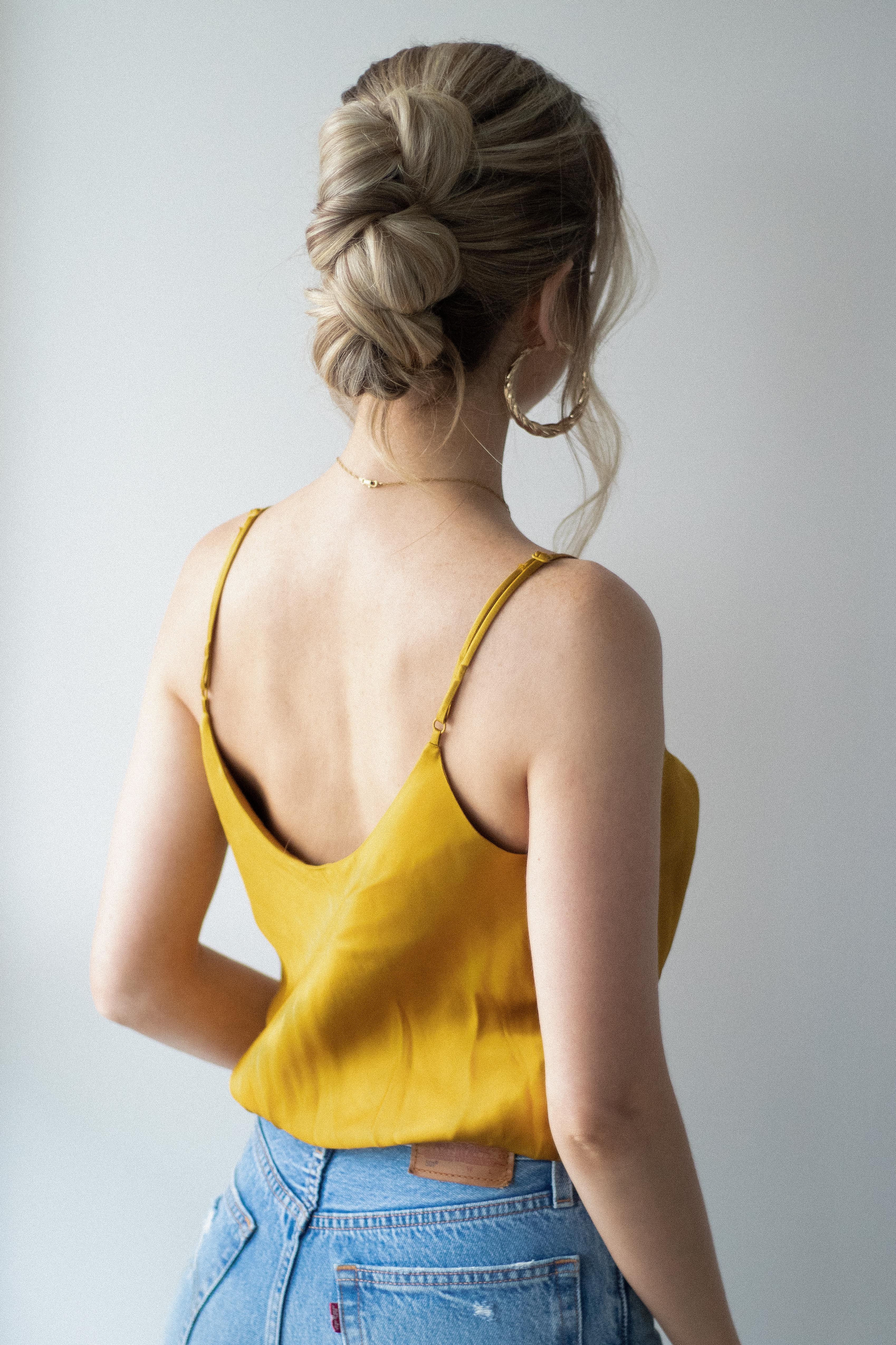 EASY Knotted Braid Updo Hair Tutorial | www.alexgaboury.com