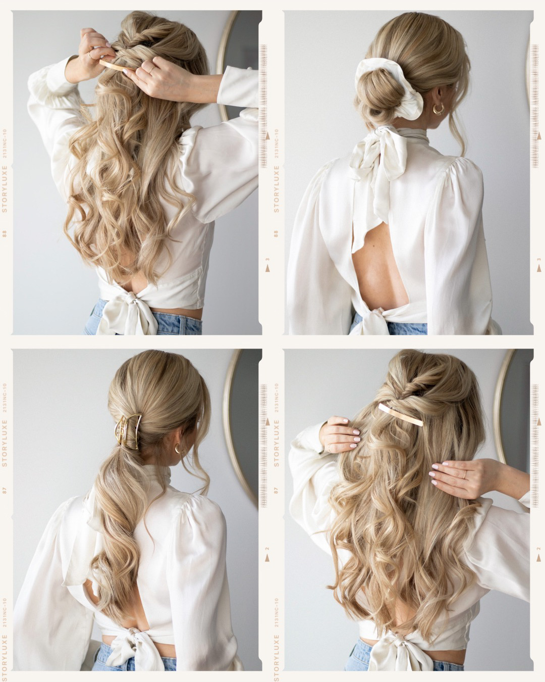 HOW TO: EASY HAIRSTYLES FOR 2020   www.alexgaboury.com