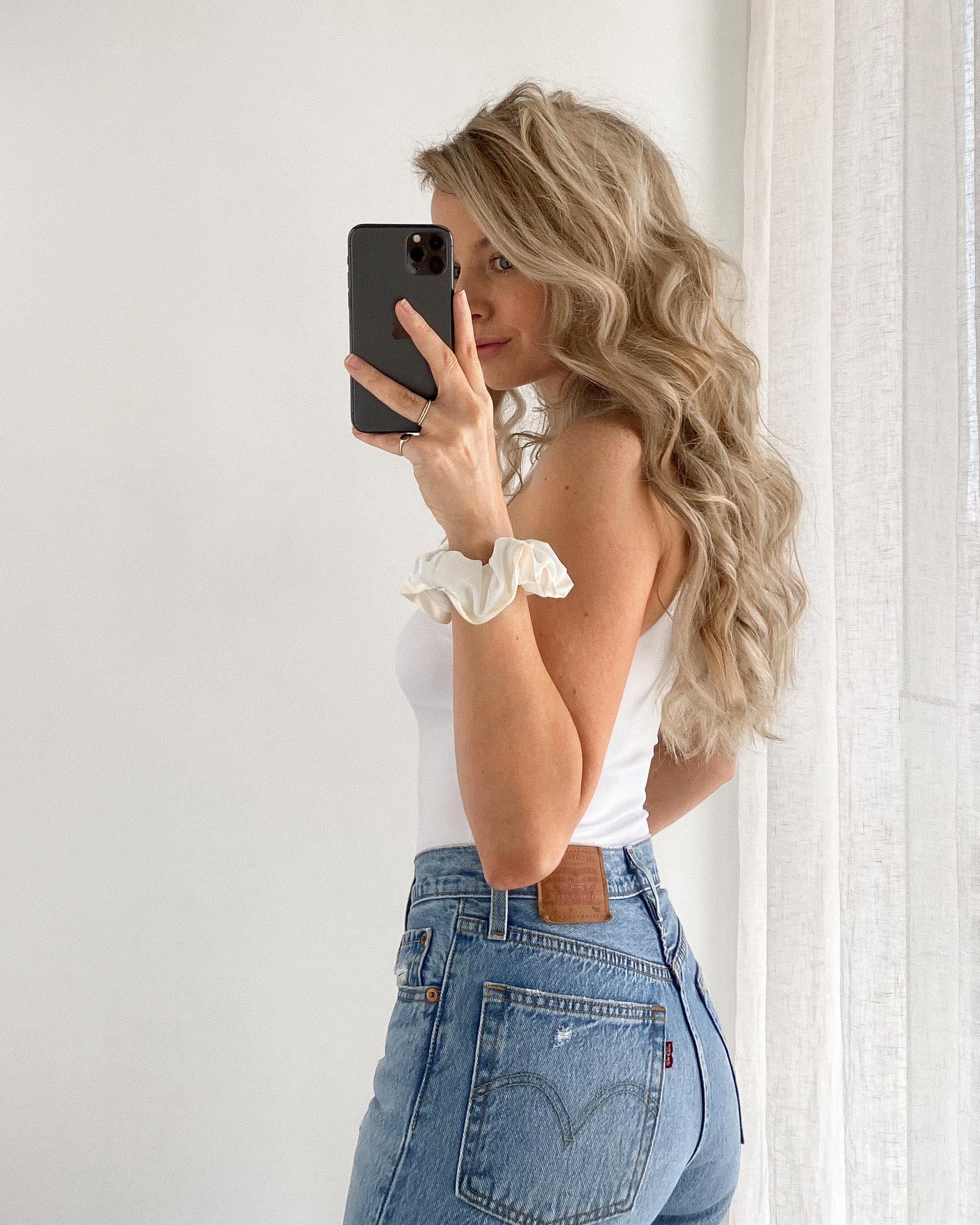YOU MUST TRY THESE OVERNIGHT CURLS, BEST EVER - ROBE TIE CURLS | www.alexgaboury.com