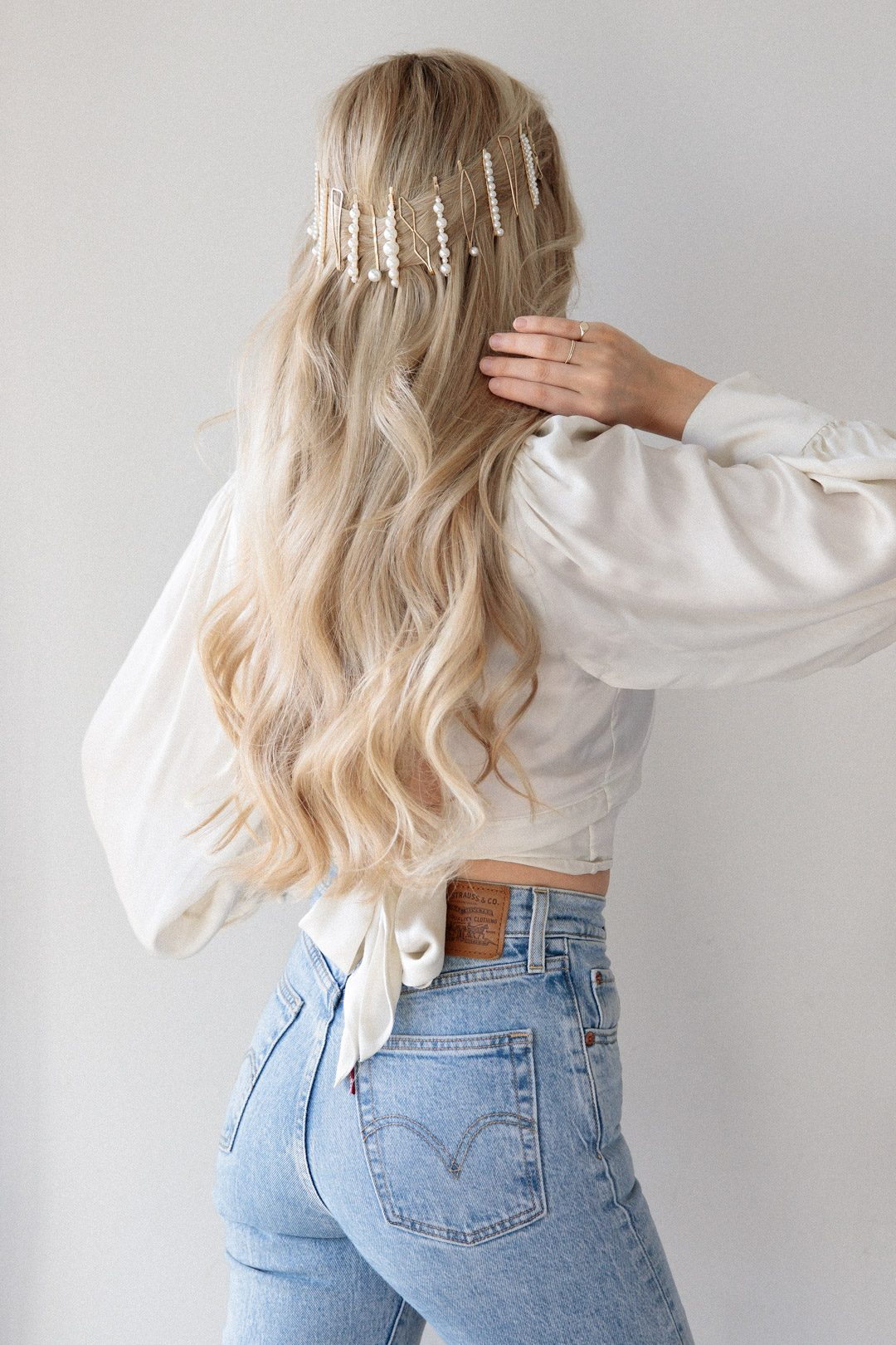 MUST TRY HALF UP HALF DOWN HAIRSTYLE