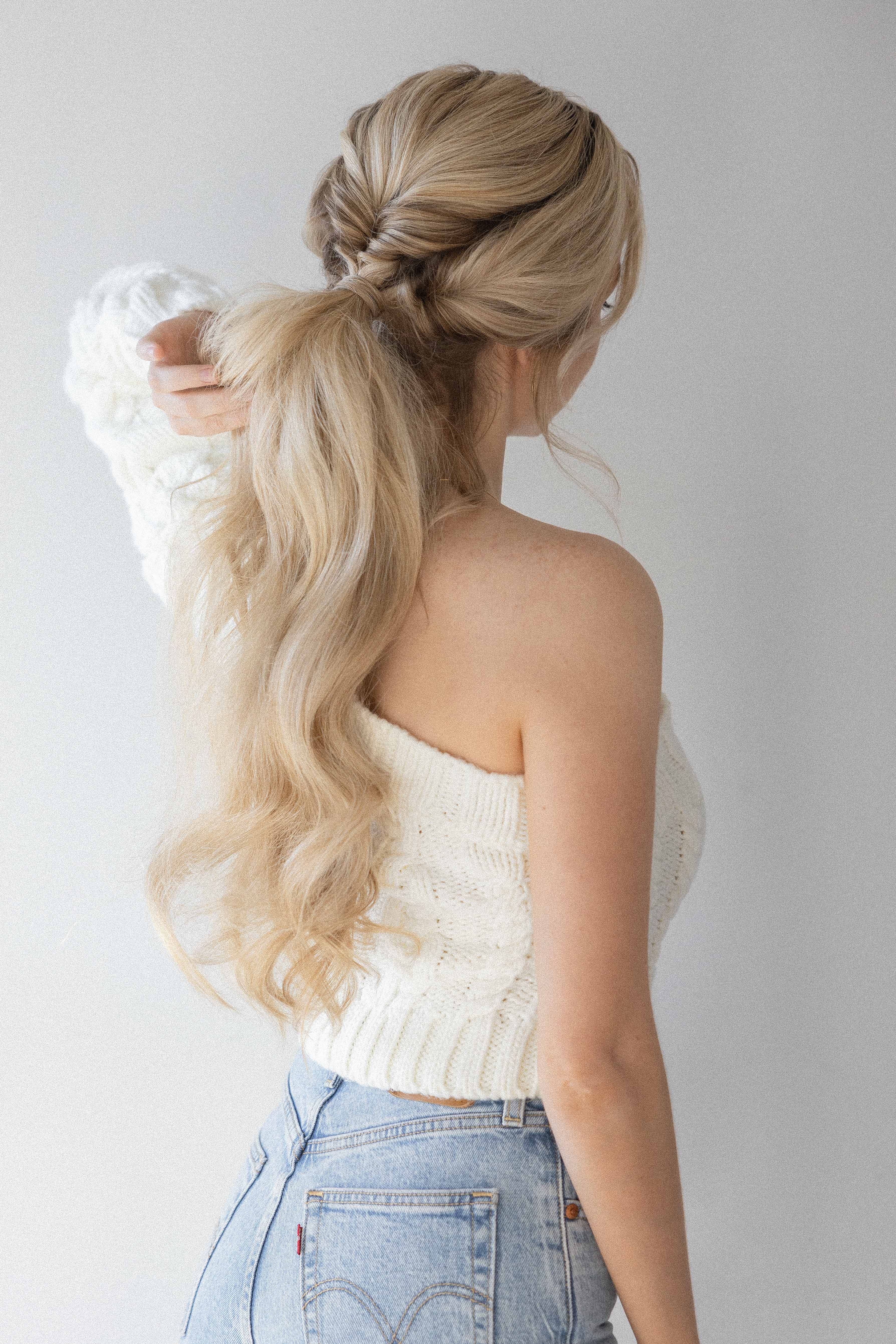 3 QUICK AND EASY PONYTAIL HAIRSTYLES | Long Hair Hairstyles Alex Gaboury