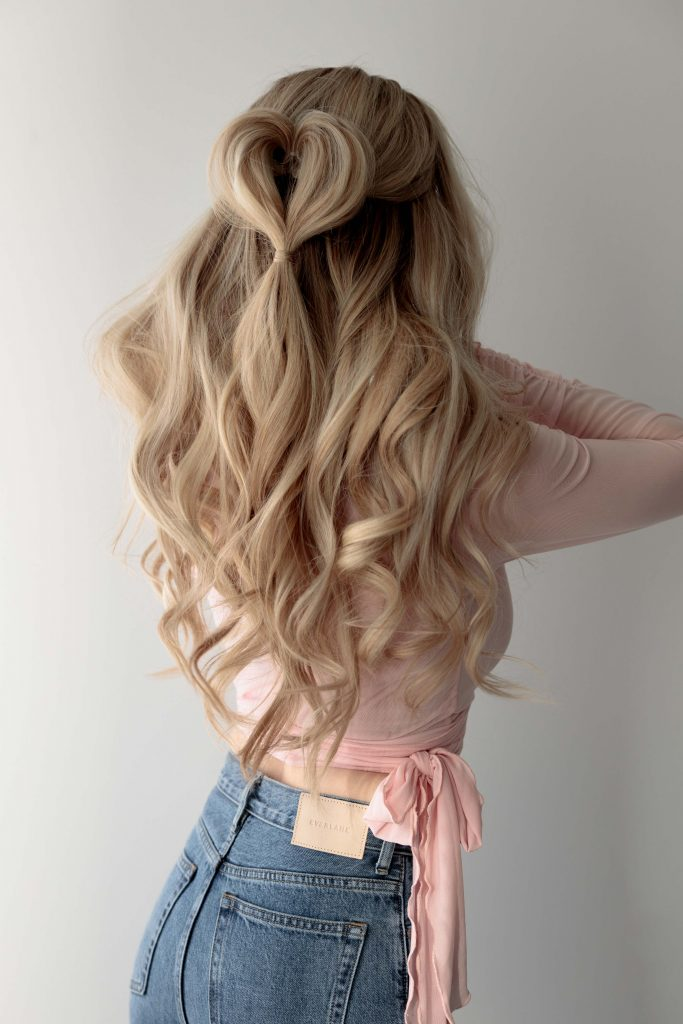 VALENTINE'S DAY HAIRSTYLES: 3 Easy Hairstyles For Valentine's Day