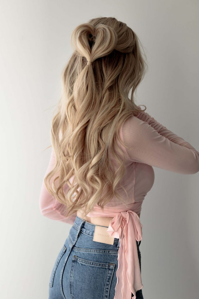 3 EASY HEART HAIRSTYLES PERFECT FOR VALENTINE'S DAY
