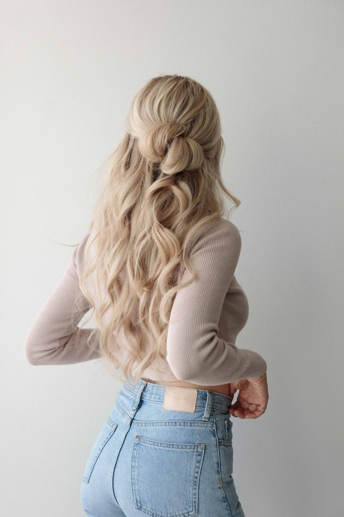 3 HALF UP HAIRSTYLES PERFECT FOR MEDIUM - LONG HAIR - Alex Gaboury