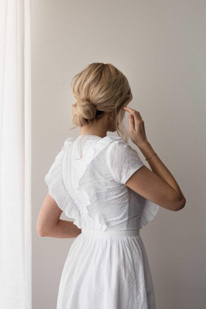 EASY LOW BUN HAIRSTYLE + TUTORIAL |Wedding, Bridal, Prom hairstyles