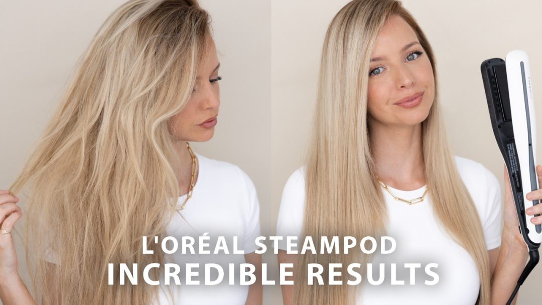 L'OREAL STEAMPOD BEFORE & AFTER + REVIEW & TUTORIAL