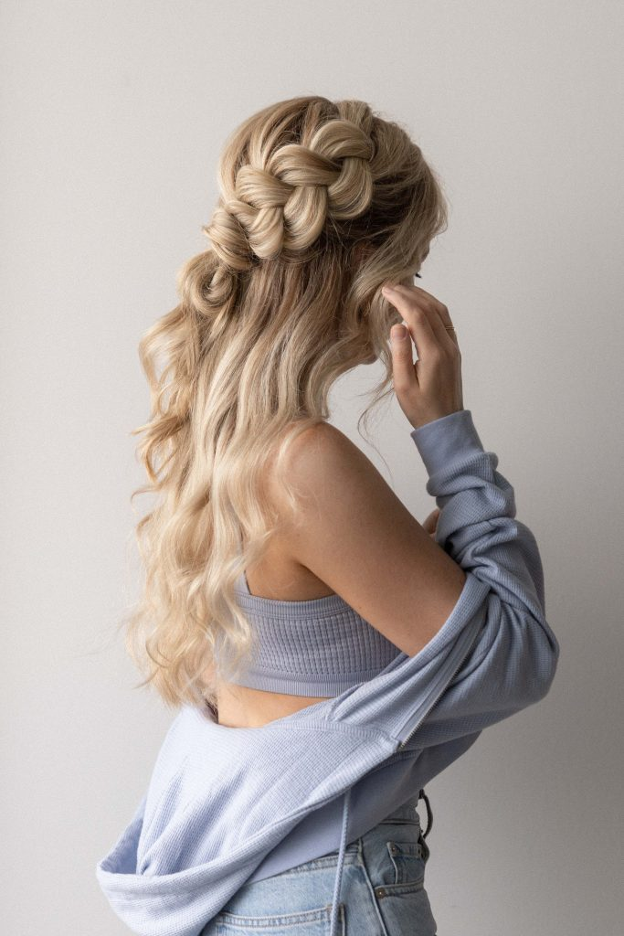 10 EASY BACK TO SCHOOL HAIRSTYLES + TUTORIALS 2021   BRAIDED HAIRSTYLE