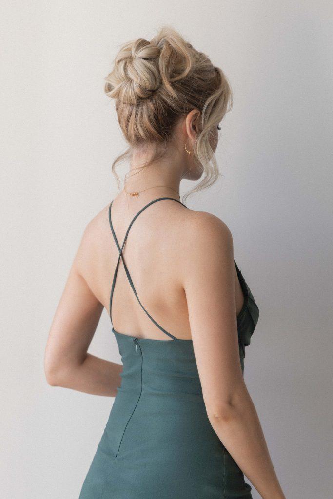 3 EASY FALL HAIRSTYLES 2021 | Easy High Bun Hairstyle